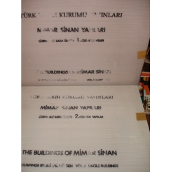 MİMAR SİNAN YAPILARI - The Buildings of Mimar Sinan - CATALOGUE / 1. KÜLLİYELER (Complexes) 2. TEK YAPILAR (Single Buildings)