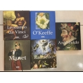 Raffaello - Manet - Lonardo da Vinci - Arcimboldo - O'Keeffe